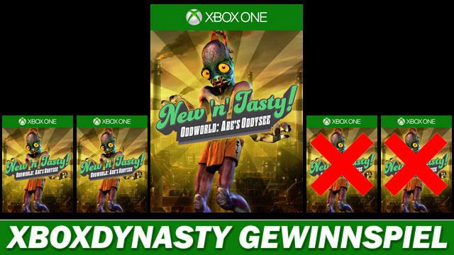 Xboxdynasty - Wir verlosen 5x Oddworld: Abe's Oddysee New N' Tasty ...